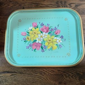 Other - SOLD Charming Vintage Tea Tray
